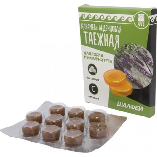 Карамель леденцовая Таежная для горла и иммунитета  г. Астрахань