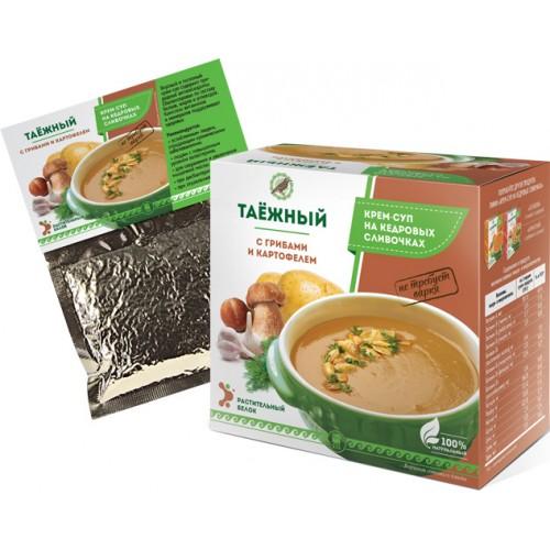 Крем-суп «Таежный» с грибами и картофелем  г. Астрахань