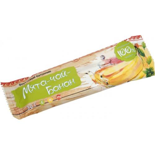 Батончик фруктовый Банан-чай-мята  г. Астрахань