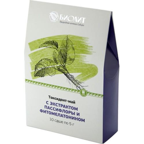 Токсидонт-май с экстрактами пассифлоры и фитомелатонином  г. Астрахань