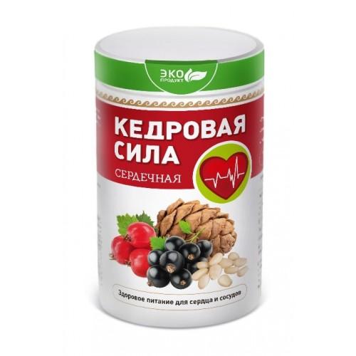 Продукт белково-витаминный Кедровая сила - Сердечная  г. Астрахань