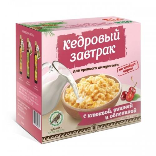 Завтрак кедровый для крепкого иммунитета с клюквой, вишней и облепихой  г. Астрахань